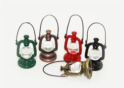 1:12  Scale Retro oil lamp Dollhouse Miniature Toy Doll Food Kitchen living room Accessories