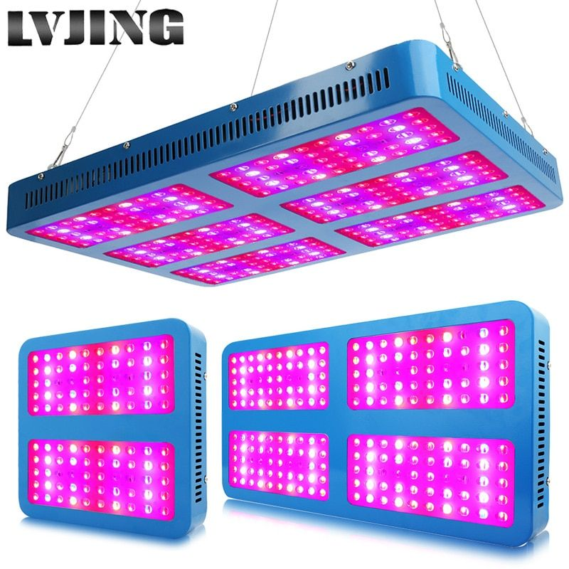 LED élèvent la lumière 1000W 2000W 3000W spectre complet élèvent des lampes pour les plantes de fleurs médicales