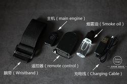 Mini Remote Control Smoke Bomb, Biaya Trik Sulap Alat Peraga Sulap Mentalisme, Dekat Jalan Sihir Gimmick Tidak Ada