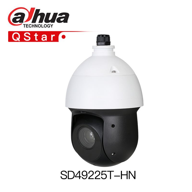 Dahua H.265 SD49225T-HN 2MP 25x Starlight IR PTZ Network Camera SD49225T-HN High Speed IP Dome Camera IP66 Waterproof IP Camera