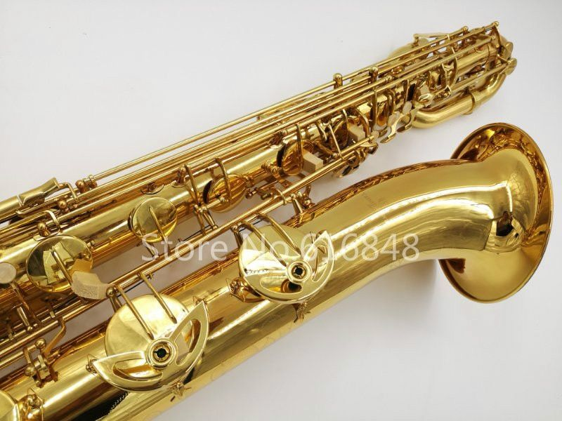 New Arrival YANAGISAWA B-901 Baritone Brass Saxophone Gold Plated Surface Brand Sax Musical Instrument With Mouthpiece And Case