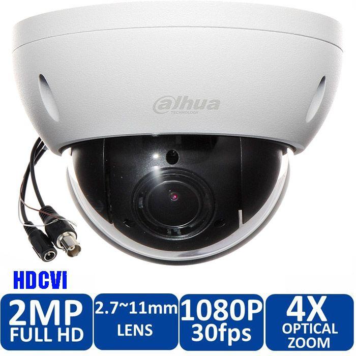 Free Shipping DAHUA DH- SD22204I-GC Security Camera CCTV 2MP FULL HD 4x PTZ HDCVI Camera IP66 IK10 SD22204I-GC with power