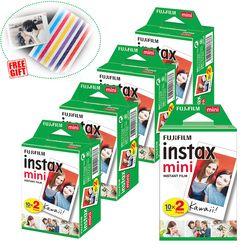 Fujifilm Instax Mini Instant Film White For Instax Mini 9 8 8+ 7c 7s 70 90 25 50s Camera Smartphone Printer SP-2 1 Polariod 300