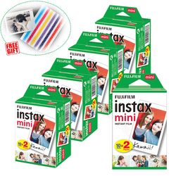 Fujifilm Instax Mini Instant Film White For Mini 9 8 8+ 7c 7s 70 90 25 50s Camera Smartphone Printer Liplay SP-2 1 Polariod 300