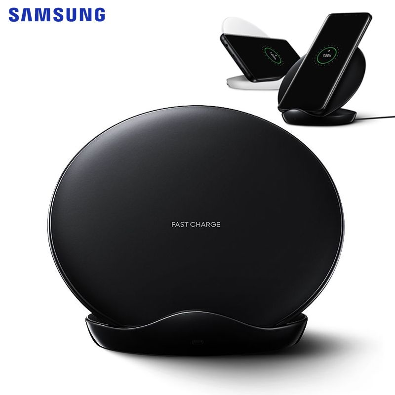 SAMSUNG Original Fast Wireless Charger Charging Pad For Samsung Galaxy S9 Plus S10+ Note 9 iPhone8 S7 edge G955F S8 S9 EP-NG930