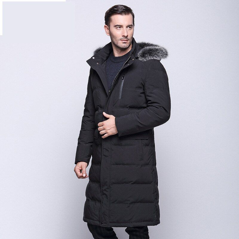 2017 neue winterjacke Männer 90% Weiße Ente Unten Lange Jacken halten Warmen Mantel Lässig Männer dicke Daunen Mantel Jacken parka homme