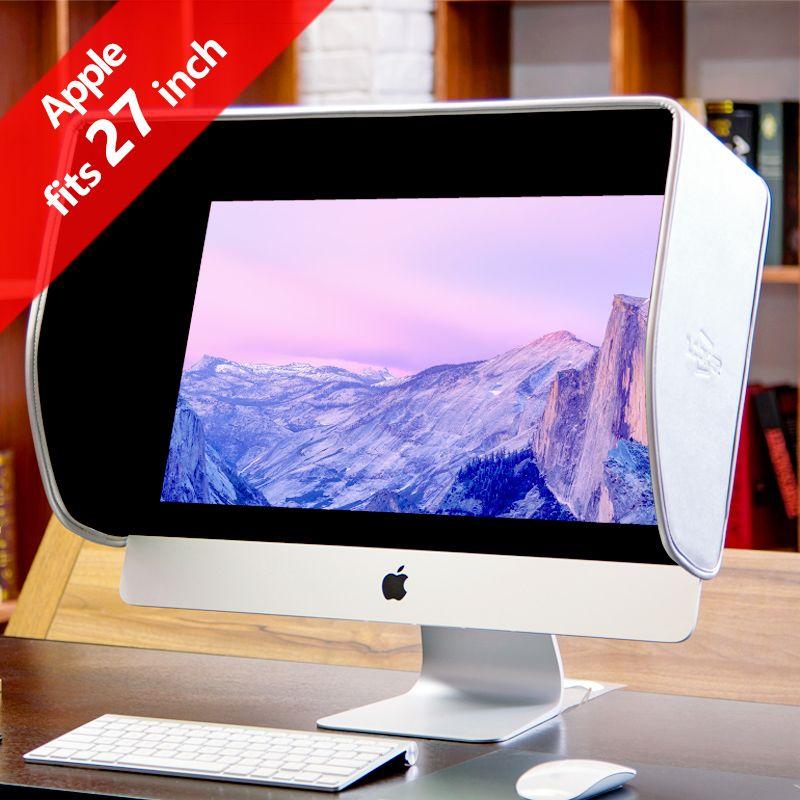 ILooker 27A 27 pouce iMac & 27 pouce Moniteur Capot Pare-Soleil Sunhood Silver Edition pour Apple iMac et Moniteur Apple les deux nouvelles (fin)