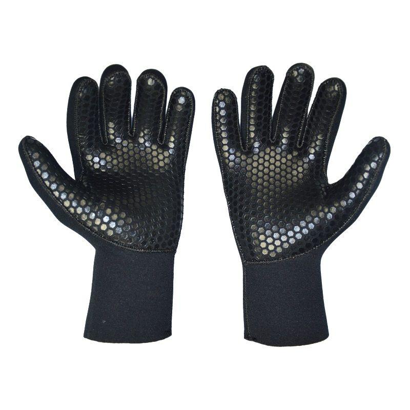Black Men Women <font><b>Diving</b></font> Gloves 5mm Neoprene Scuba Wetsuit Glove For Swimming Winter Fishing Spearfishing Underwater Hunting