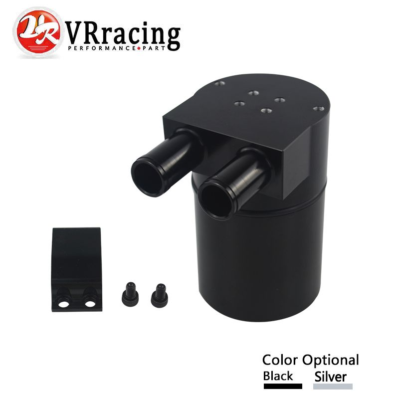VR RACING - UNIVERSAL RACING Aluminum Alloy Reservior Oil Catch Can Tank for BMW N54 335 VR-TK60