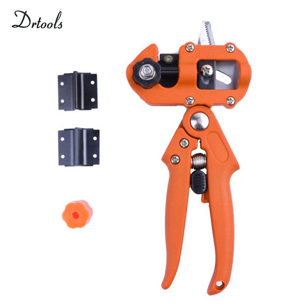 Orange color Grafting machine Garden Tools with 3 Blades Tree Grafting Tools Secateurs Scissors grafting tool Cutting Pruner