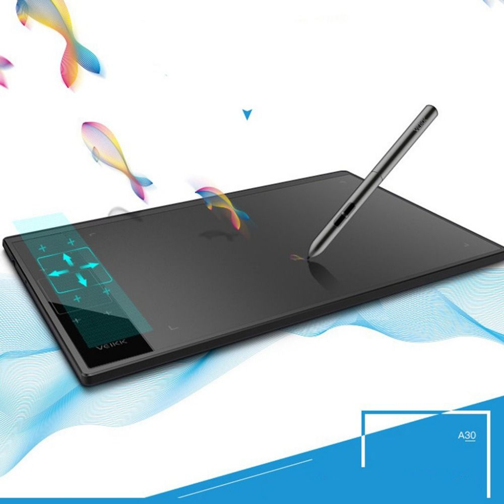 A30 10x6inch Smart Graphics Tablet Drawing Touch Pads Signature Drawing Pen Graphics Tablet for Writing Painting Pro Designer