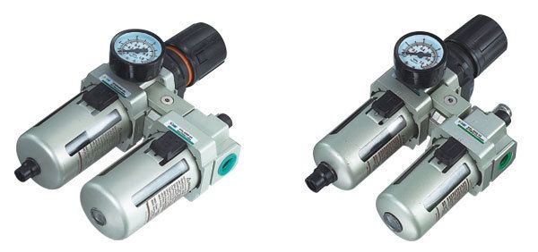 SMC Type pneumatic regulator filter with lubricator AC5010-10