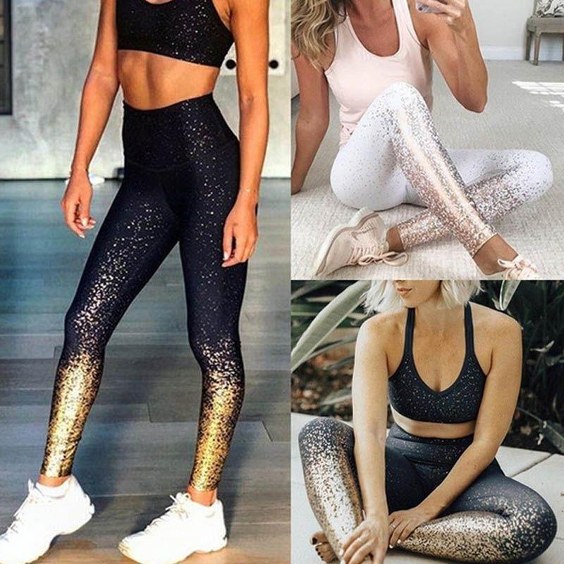2019 Women Leggings New Flower Digital Print Pant Slim Fitness Push Up Pants Woman Leggins Workout Plus Size High Waist Leggings