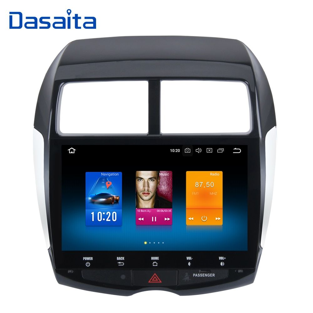 Android 8.0 Octa Core 4 gb RAM + 32 gb ROM GPS Multimedia-Player mit 10,2 HD Touch Screen für mitsubishi ASX 2010 2011 2012