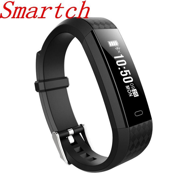 Smartch ZY68 Smart Armband Fitness Tracker Herzfrequenz Zähler Aktivitätsmonitor Band Wecker Vibration Armband PK ID115