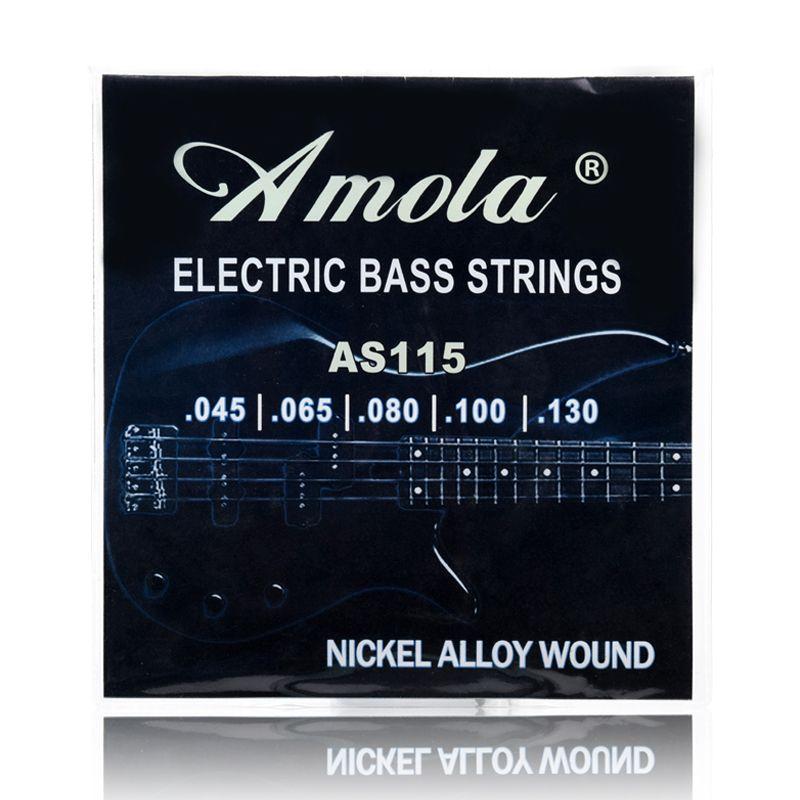 Bass Guitar Strings Amola AS115 045-130 Bass String 5 Electric Bass Strings Medium