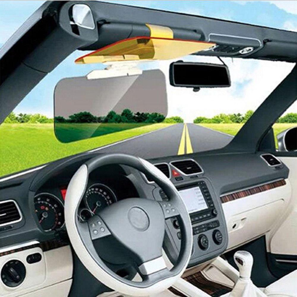 New Car Sunshade Day Night Sun Visor mirror Anti-dazzle Clip-on Driving Vehicle Shield hot selling