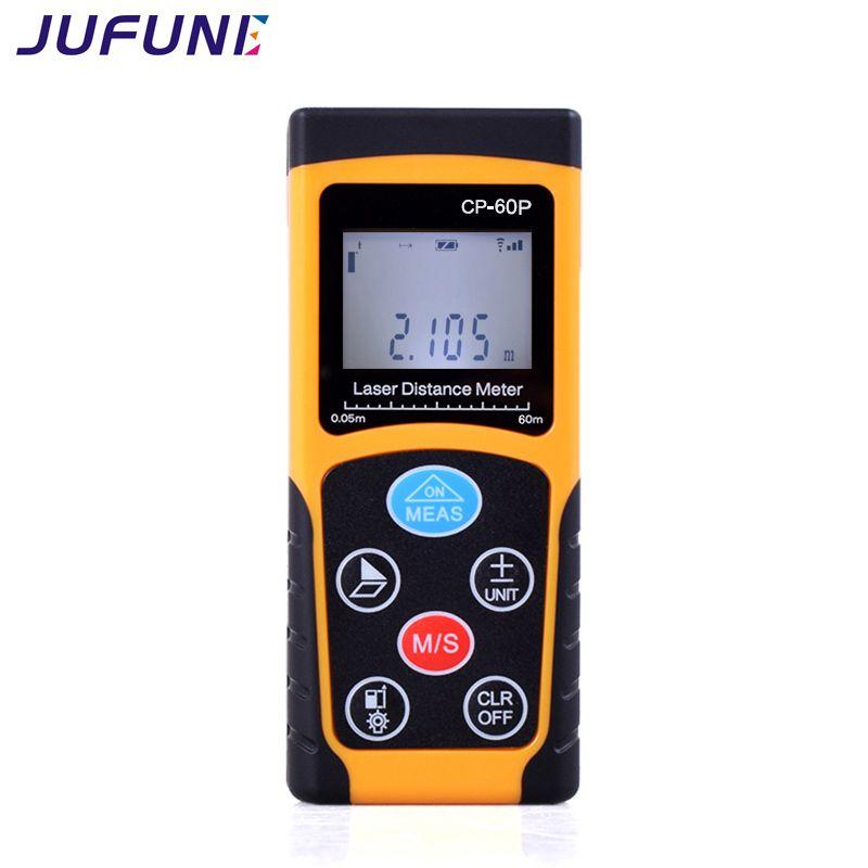 Jufune laser distance mètre 40 M 60 M 80 M 100 M télémètre trena laser ruban télémètre construire mesure dispositif règle outil de test