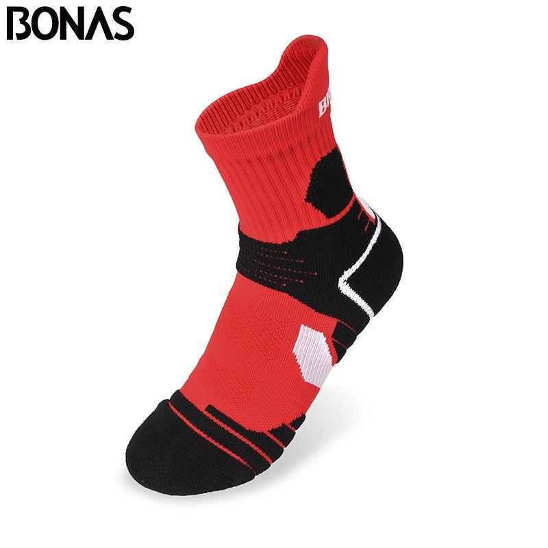 BONAS атлетика короткие носки Для женщин Термальность Hike хлопковые носки для девочек полиэстер Coolmax быстросохнущая Ткань Носки для девочек то...