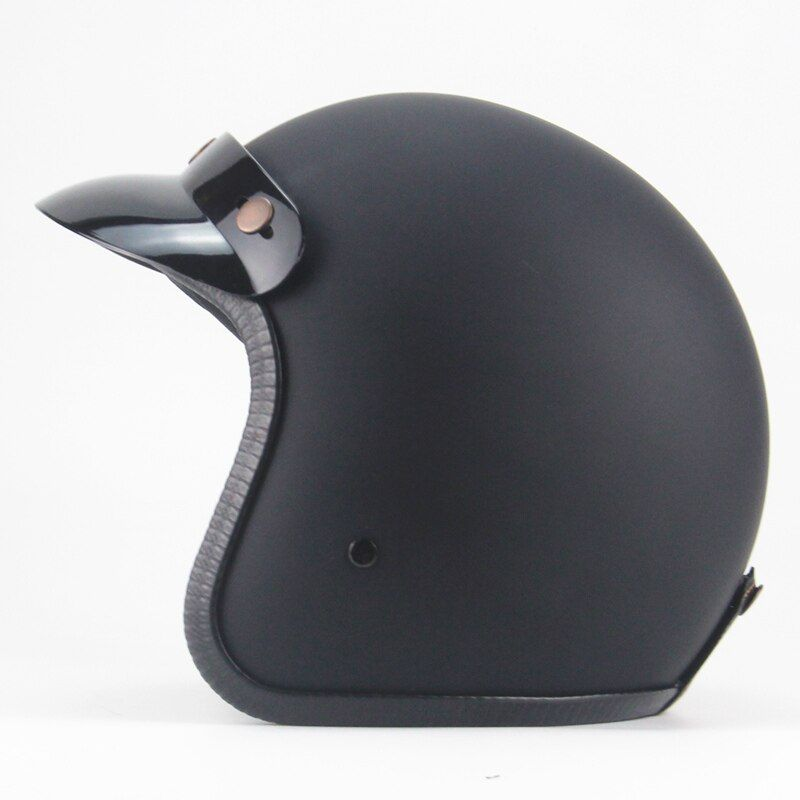 vintage casco motorcycle harley helmet jet capacetes de motociclista harley vespa cascos para moto cafe racer open face