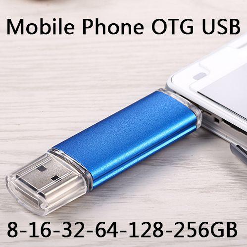 High Quality 2017 Smart Phone Android OTG USB Flash Drive 2TB 1TB Pen Drive 32GB 16GB 8GB USB 2.0 Flash Memory Stick 512GB Gift
