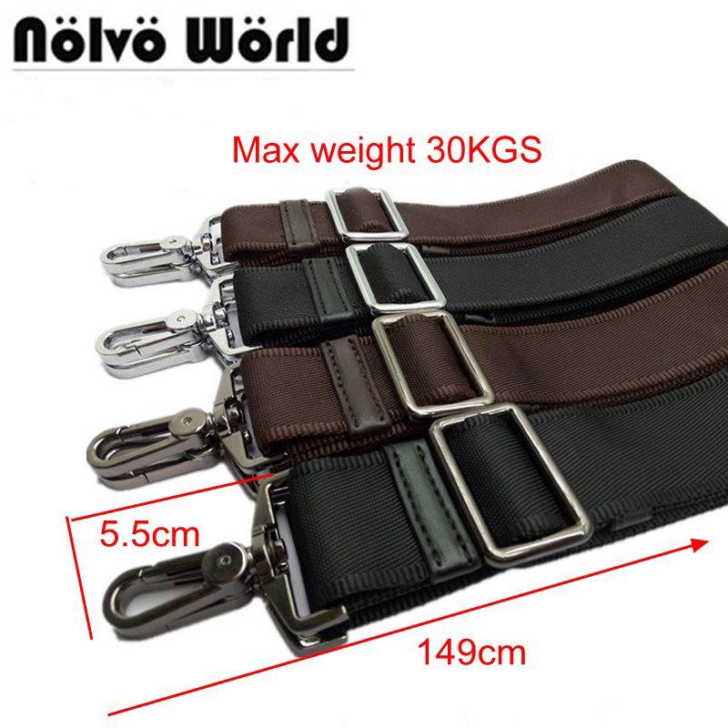 Powerful hook 38mm wide nylon belt strap,replace men bags long shoulder strap,man laptop bag straps,repair bag shoulder strap
