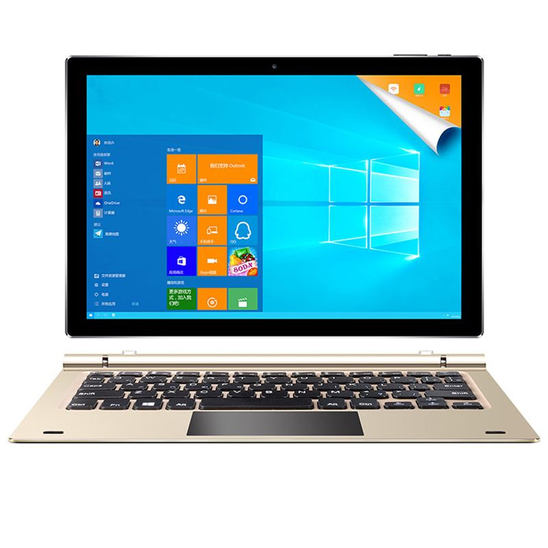 Teclast Tbook 10S Tablet PC 10.1 inch Windows 10 Android 5.1 Intel Cherry Trail X5 Z8350 Quad Core Tablet 4GB 64GB with keyboard