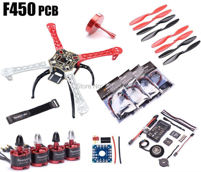 F450 Multi-hubschrauber Quadcopter Rack Kit Pixhawk PX4 PIX 2.4.8 32 Bit Flight Controller M8N GPS 2212 920kv Motor Super combo