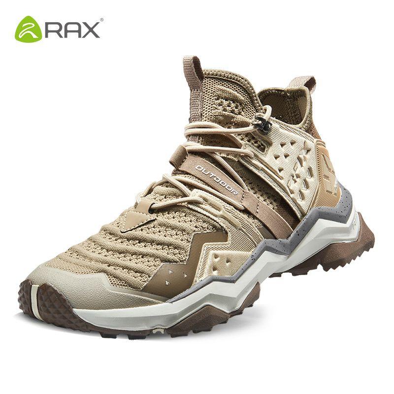 Rax Männer Atmungsaktive Wanderschuhe Outdoor Trekking Stiefel Herren Sport Turnschuhe Berg Stiefel Slip-beständig Aufwachen Wandern Schuhe