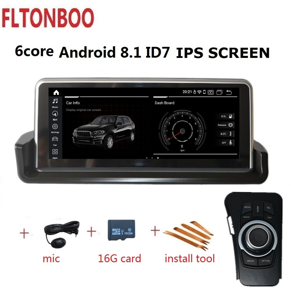 10,25 ''Android 8,1 Auto Gps radio player navigation ID7 für BMW E90 E91 E92 E93 3 serie 6 core wifi bluetooth 2 GB RAM 32 GB ROM