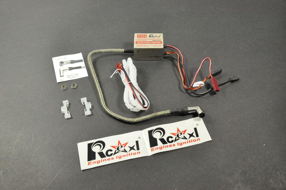 Rcexl Single Cylinder CDI Ignition for NGK-ME8 1/4-32 90 degree (A-02 4.8V~8.4V 622a)