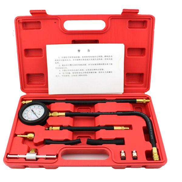 Kit de testeur de pression de pompe d'injection de carburant automatique de TU-113