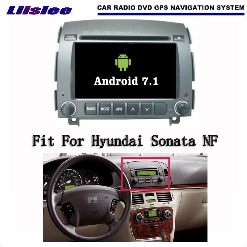 Android 7.1 2G RAM For Hyundai Sonata NF 2006~2008 Car Radio Audio Video Multimedia DVD Player WIFI DVR GPS Navi Navigation