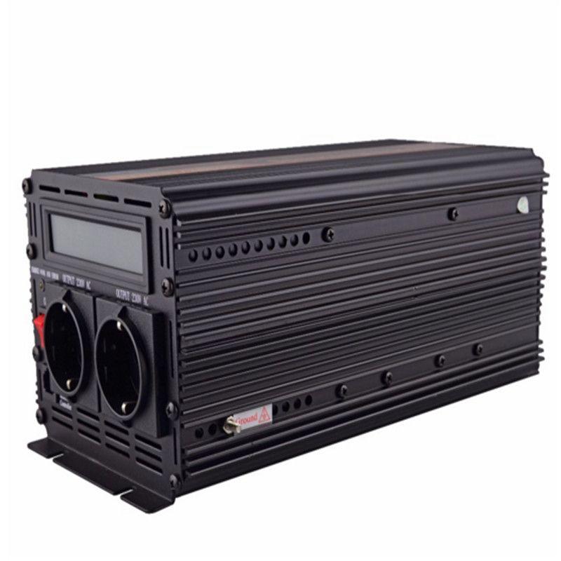 EDECOA 12 v 220 v reine sinus welle power inverter mit UPS und batterie ladegerät funktion 1500 watt 3000 watt spitzenleistung