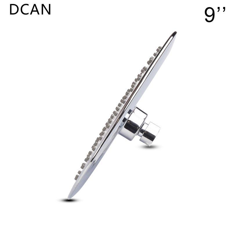 DCAN 9 ''Showerhead Körper Sprays UFO Regen Dusche Kopf Ultra Dünne 2mm Regaderas Para Kopf Dusche Chuveiros Bad showerhea