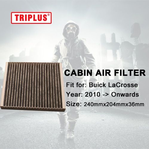 Cabin Air Filter for Buick LaCrosse (2010-Onwards) 1pc,Activated High Carbon Pollen Air Filters, Better than Original