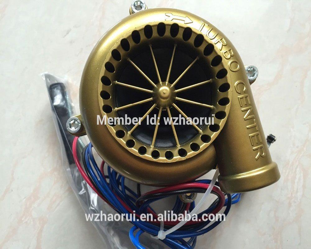 Universal Auto HAOER parts car fake dump Valve electronic turbo blow off valve sound blow off analog sound bov HR-1201 GOLDER