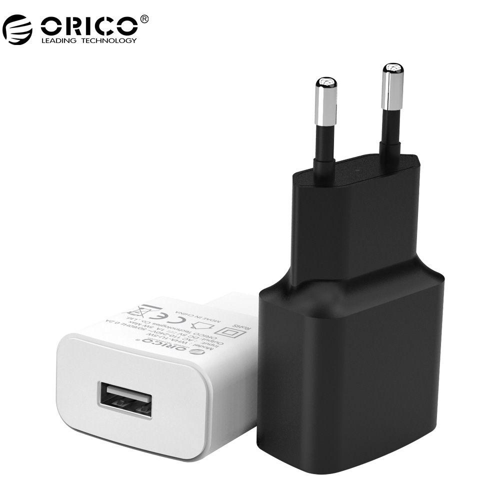 Orico wha usb-ladegerät 2a 1a reise ladegerät adapter 5 watt 10 watt portable intelligente handy ladegerät eu stecker
