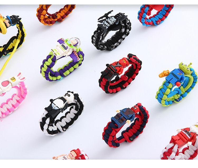 CDC Handmade Multi Color Tibetan Buddhist Good Lucky Knots Rope Charm Bracelets & Bangles For Women Men Bracelet