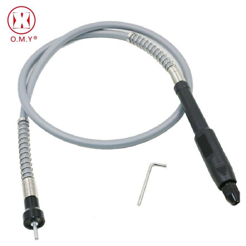 Profession Grinder Arbre Flexible Souple Flex Arbre avec 0.3-3.2mm Mandrin Poignée Pour Dremel 3000 Électrique Outils accessoires