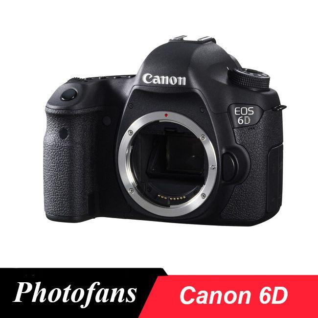 Canon 6D Volle Rahmen DSLR Kamera-20.2MP-Video-Wi-Fi (Körper nur, Marke Neue)