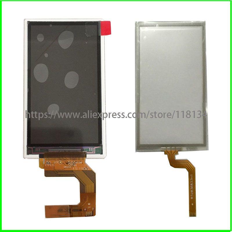 Neue original für Garmin Alpha 100 LCD WD-F2440VH-6FLW display mit touch panel touch screen Digitizer