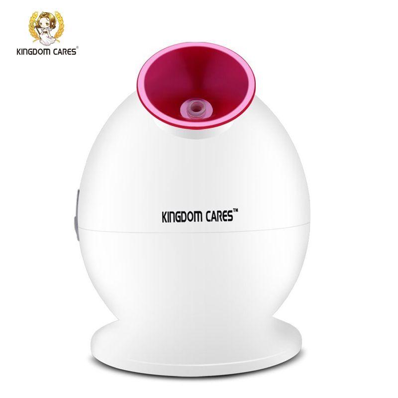 KINGDOM CARES Hot Mist Humidifier Sprayer Facial Steamer Cleansing Anti-acne Pimples Pores Acne Mask Moisturizing Skin KD-233
