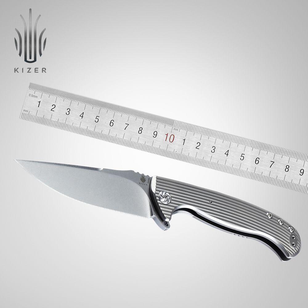 Kizer schlanke tasche messer TORO beste folding taktisches messer essencial outdoor messer edc werkzeug