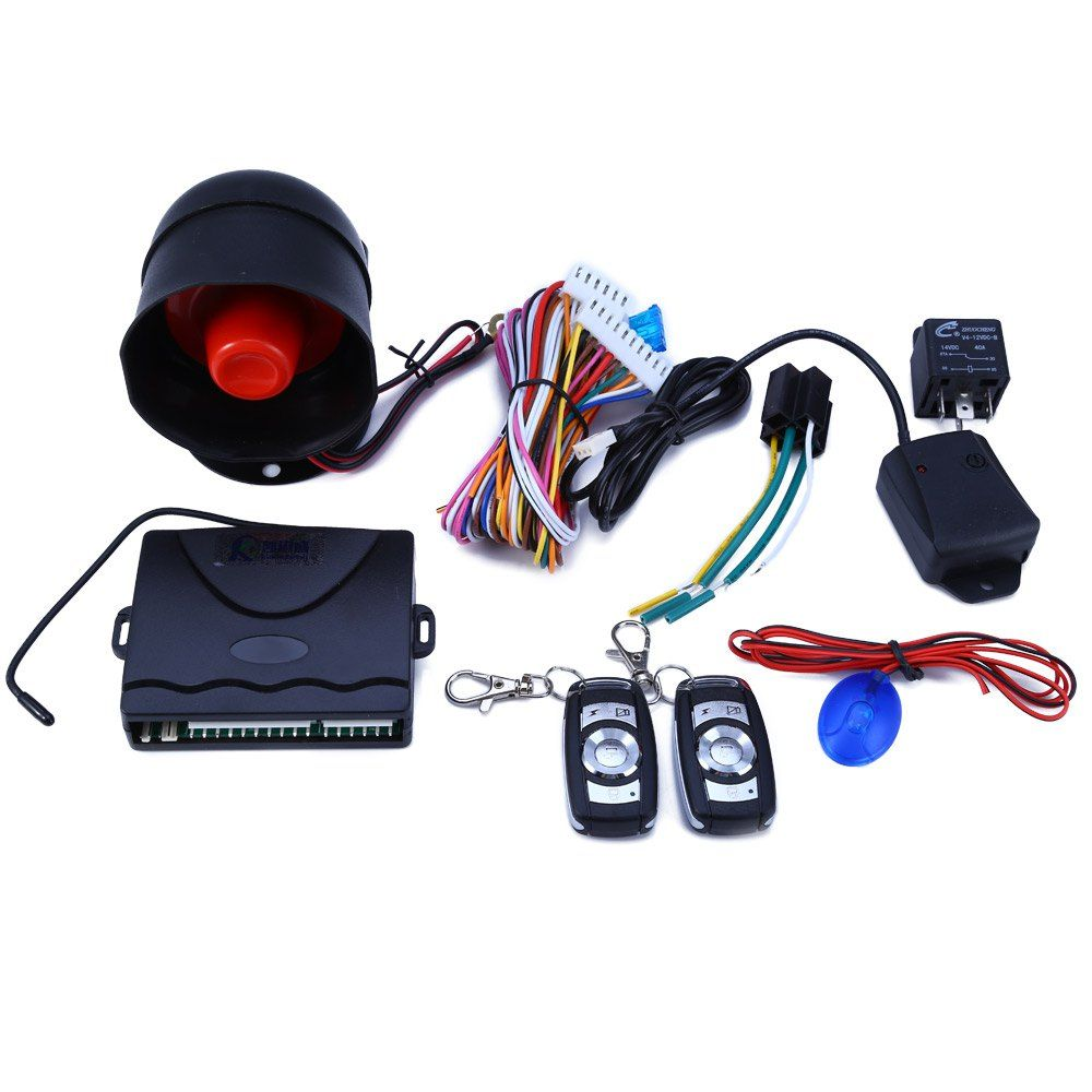 Hot Sale Universal Smart Theft-proof Programmable Car Alarm System Remote Central Kit High Quality Free Shipping