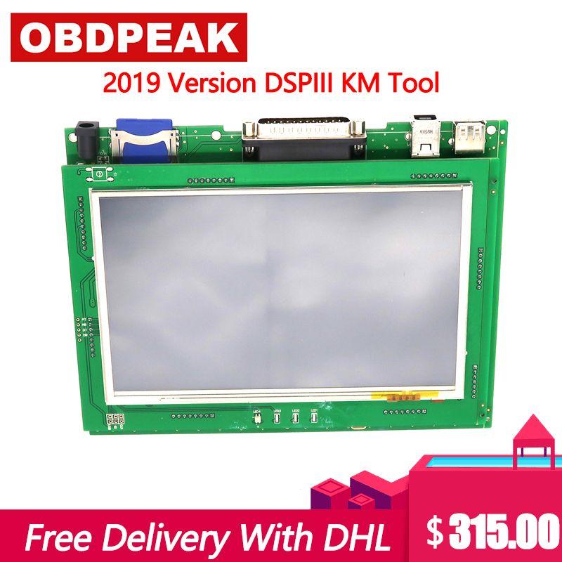Neue Version Entfernungsmesser-korrektur Werkzeug DSP3 DSPIII KM Werkzeug DSP 3 DSP III Arbeit für 2010-2019 Jahre Neue modelle Durch OBD2 DHL Verschiffen