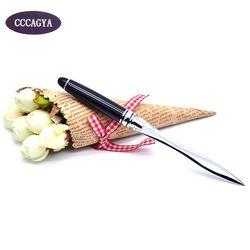 CCCAGYA F002 acier inoxydable Coupe papier Couteau. stylo Bureau et D'école Fournitures De Coupe Fournitures Lettre papier Découpé Ouvre