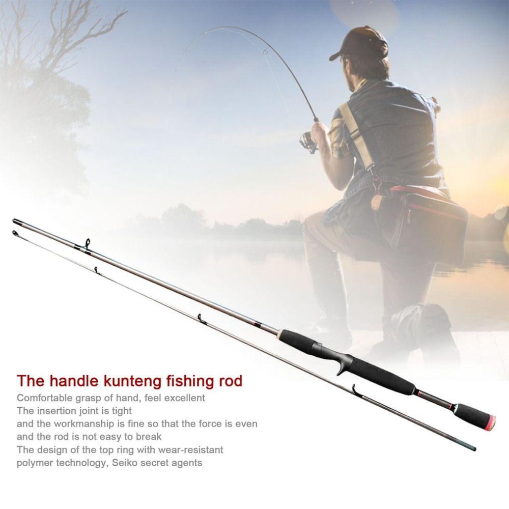 Robust Fishing Sea Rod Straight Handle Pikestaff Grips Pole Fishing Rod Strong Bearing Capacity Resin Fibre Lure Rod Travel Rod
