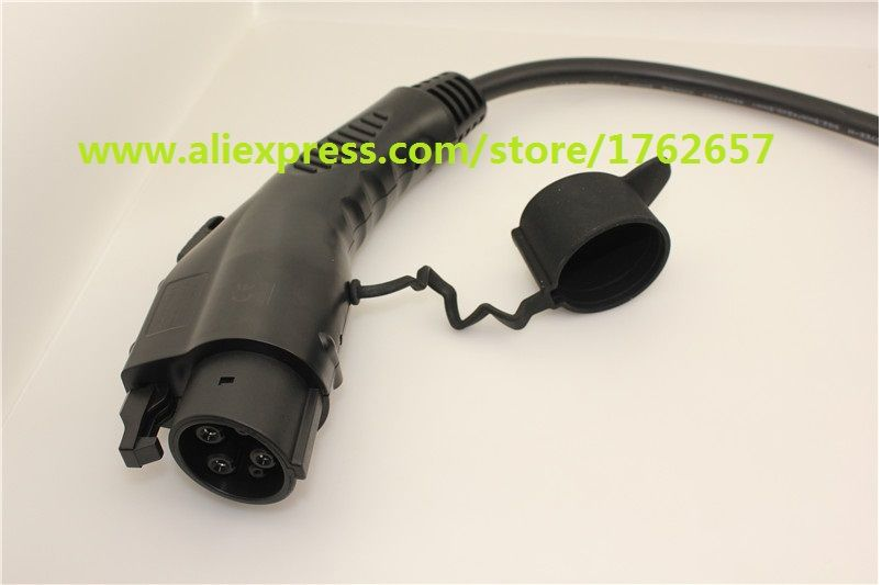 EV PLUG 32A SAE J1772 Duosida Dostar Type 1 female male connector for electric car charger charging station AC EV charger plug
