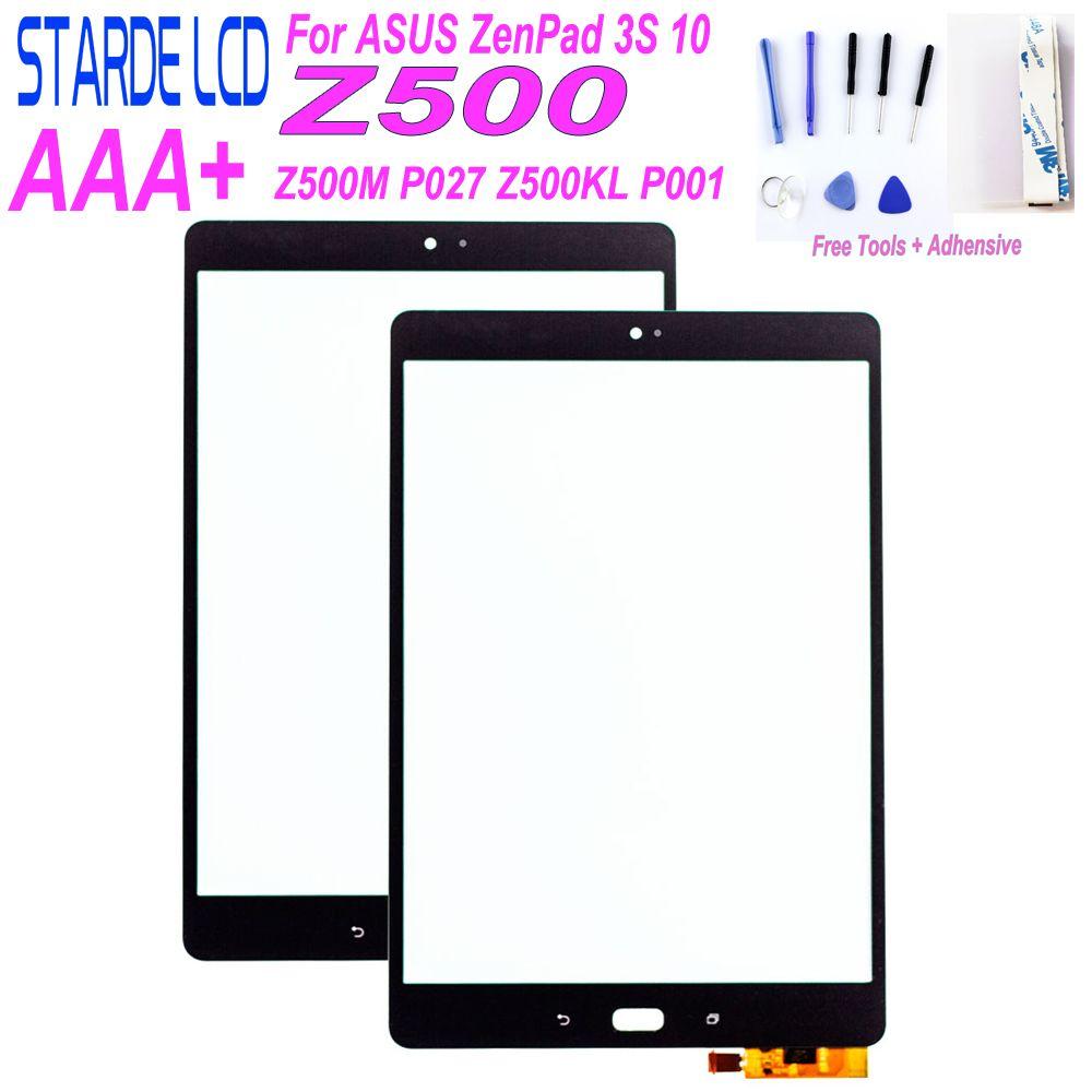 STARDE pour Asus ZenPad 3S 10 Z500M P027 Z500KL P001 ZT500KL écran tactile numériseur verre sens avec des outils gratuits